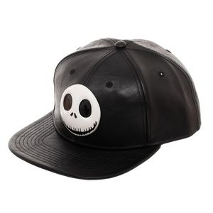 Nightmare Before Christmas Snapback Hat JACK
